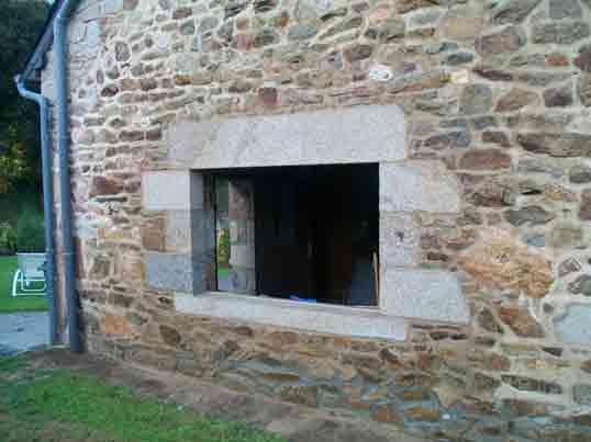 Favori Baies, portes, fenêtres | Pierre Malissin | Taille de pierre et  OM24